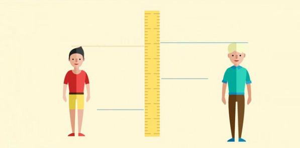 Khám phá chiều cao cân nặng chuẩn của nam giới các nước trên thế giới