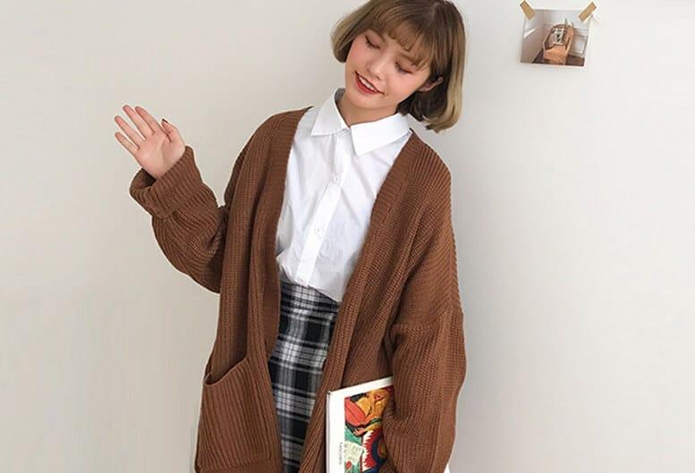 Cách phối đồ với áo cardigan như thế nào?