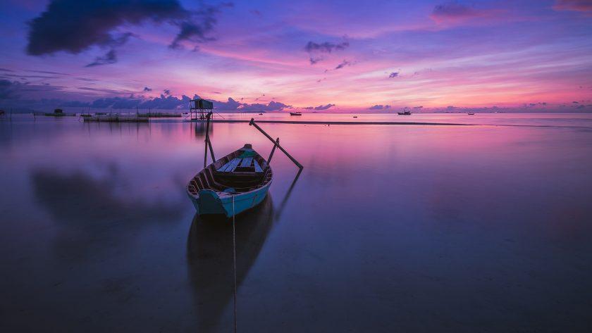 nền hình nền bên bờ biển buổi sáng phong cảnh