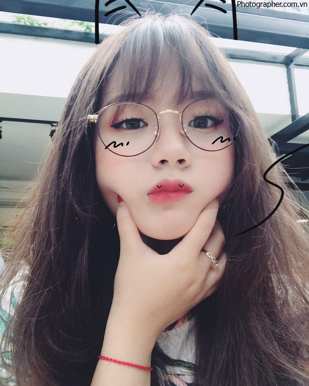 Tổng hợp những hình ảnh gái xinh đeo kính cực dễ thương