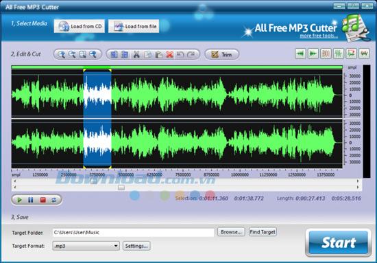 Top phần mềm cắt và ghép nhạc miễn phí tốt nhất mềm