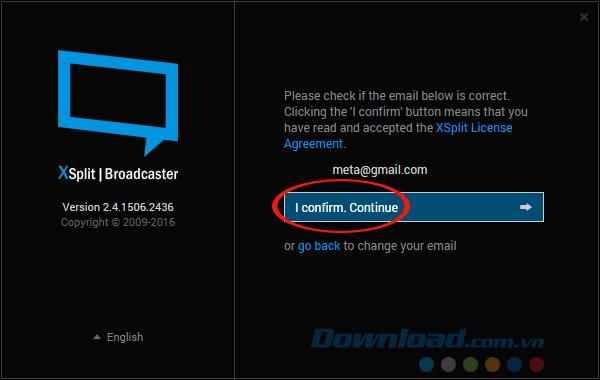 Sử dụng phần mềm XSplit Broadcaster