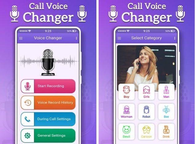 Gọi thay đổi giọng nói từ Nam sang Nữ