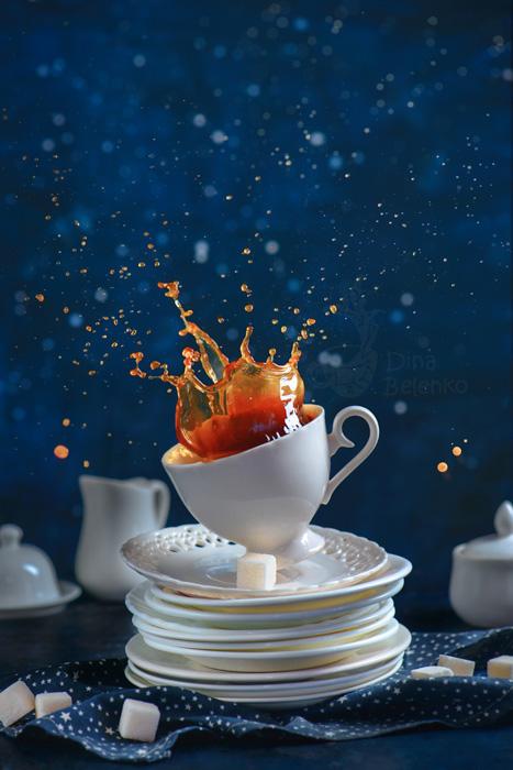 Chụp ảnh tách cà phê đẹp