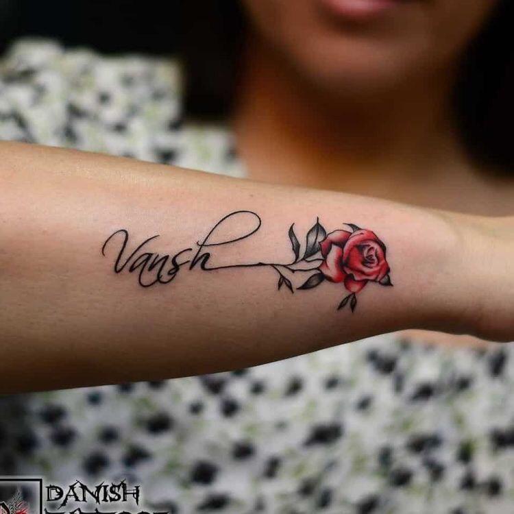 Hình xăm hoa hồng (15)