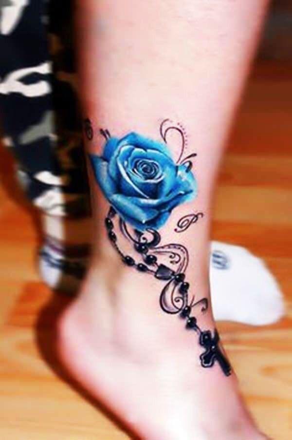 Hình xăm hoa hồng (2)