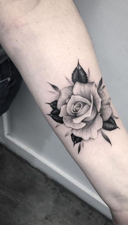 Hình xăm hoa hồng (35)