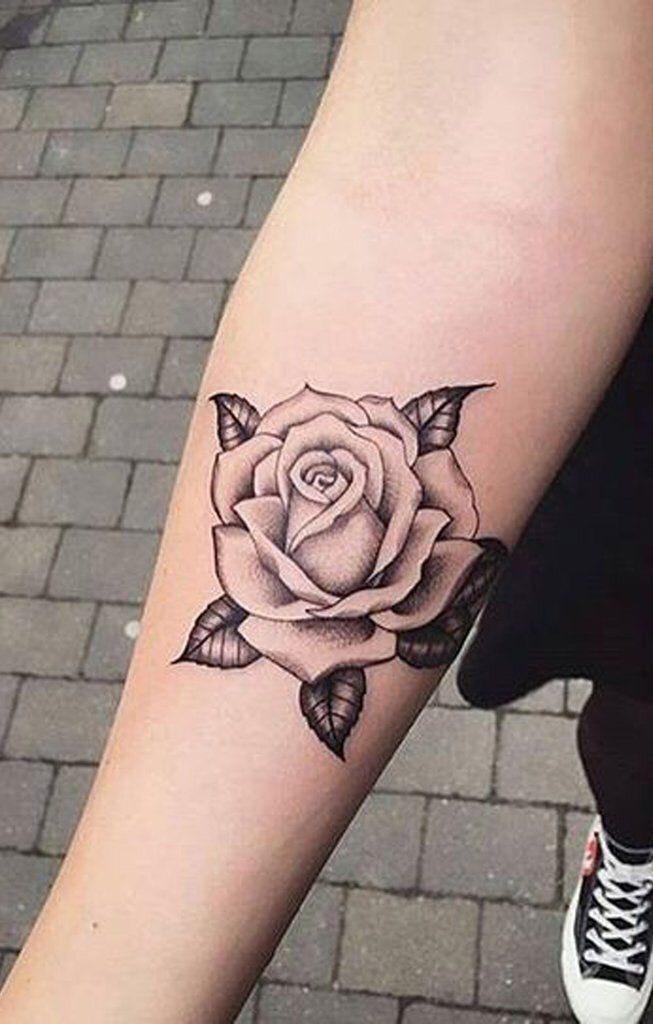 Hình xăm hoa hồng (36)