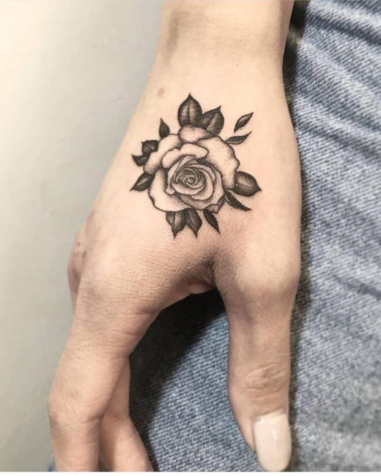 Hình xăm hoa hồng (33)