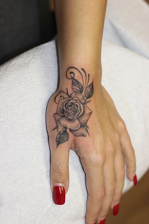 Hình xăm hoa hồng (34)