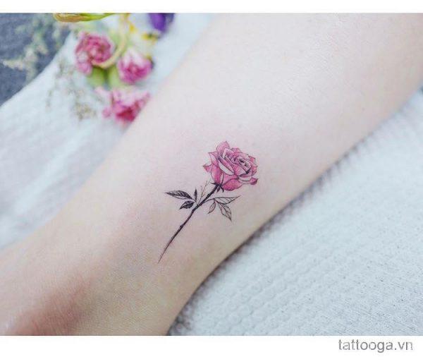 Tuyển Tập Những Mẫu Hình Xăm Hoa Hồng Mini đẹp và ý nghĩa nhất