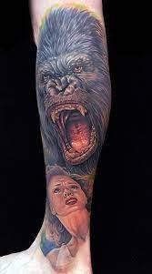 Hình xăm King Kong đẹp