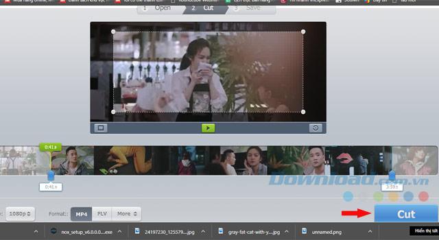 Máy cắt video trực tuyến