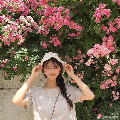 làm thế nào để chụp ảnh ở nhà, cô gái, hoa