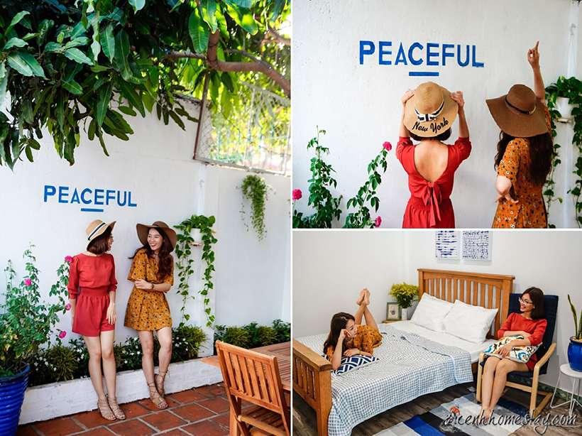 Ngôi nhà bình yên - Nơi lý tưởng cho những người bạn thân đến check in trong mùa lễ hội