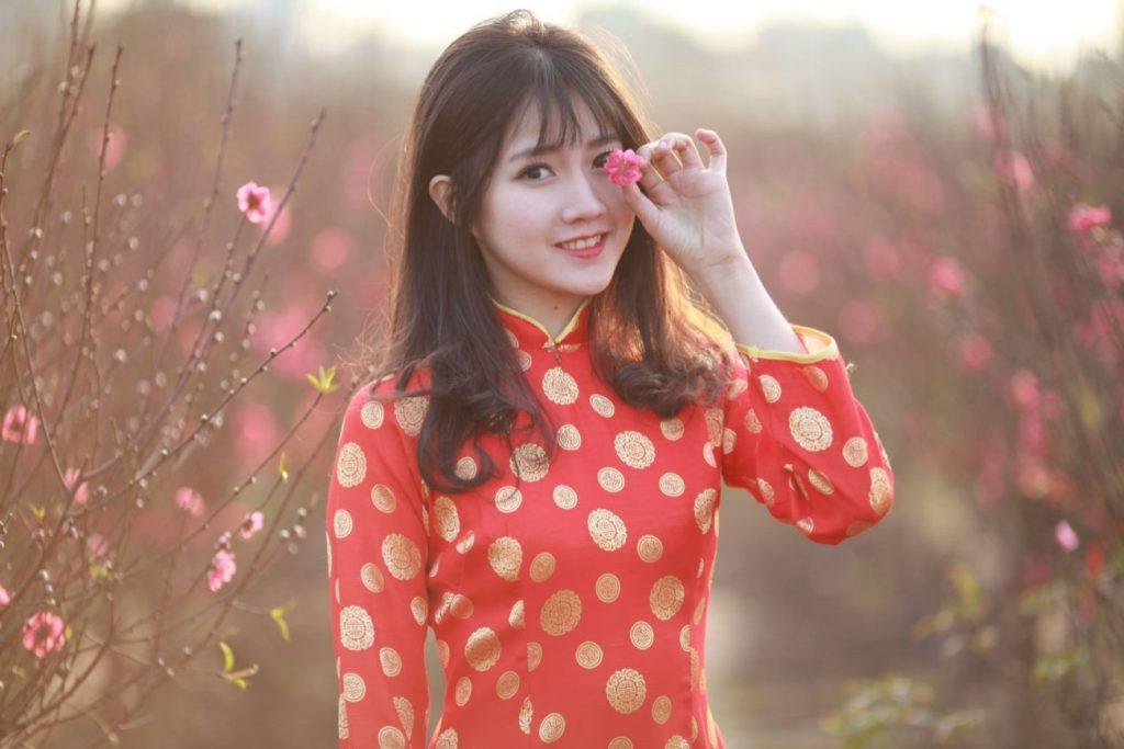 Điểm chụp ảnh đẹp ngày Tết - Vườn hoa Nhật Tân