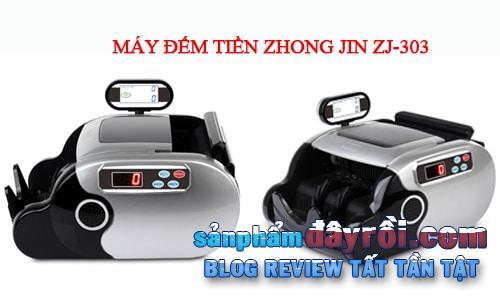Máy đếm tiền Zhong Jin ZJ-303