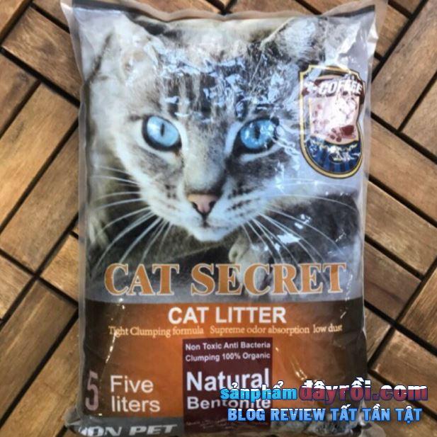 Secret Sand 5L mùi cà phê giá rẻ mà khử mùi tốt