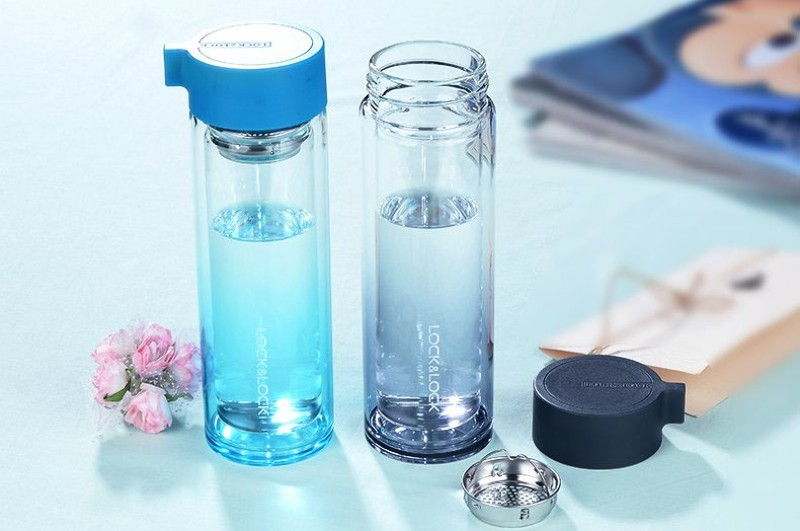 Tiêu chí chọn mua bình nước thủy tinh