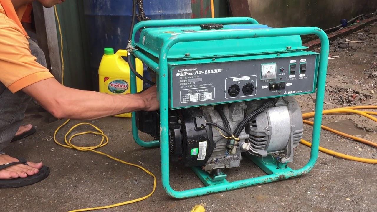 4 yếu tố cần lưu ý khi sử dụng máy phát điện