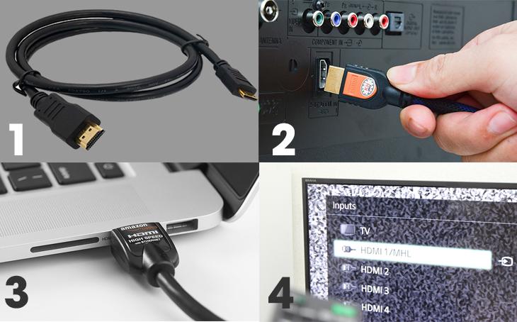 Cách sử dụng cáp HDMI chuẩn nhất