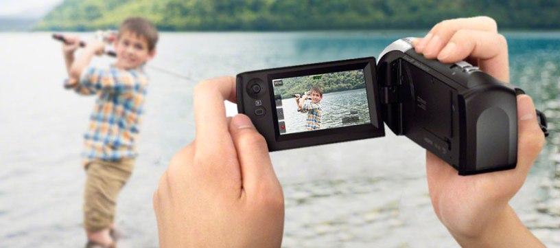 Lựa chọn máy quay có nhiều tính năng
