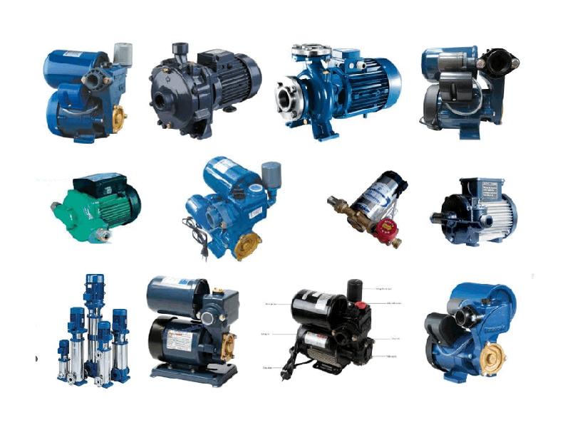 Các loại máy bơm nước đang được sử dụng hiện nay