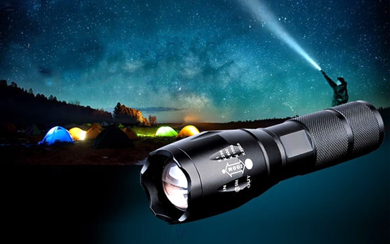 Những lý do nên chọn đèn pin siêu sáng