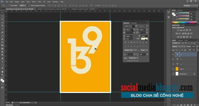 phần mềm thiết kế poster4