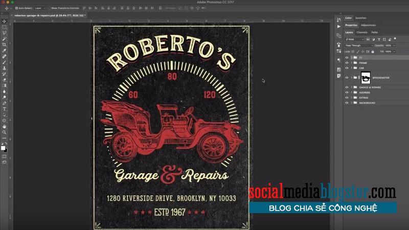 phần mềm thiết kế poster5