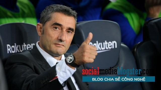 Chân dung huấn luyện viên Barca - Valverde.