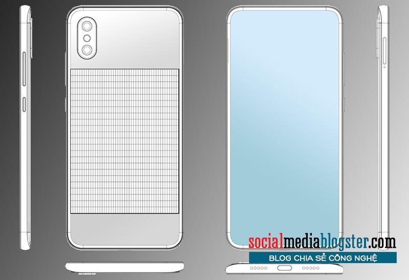 Bằng sáng chế điện thoại thông minh Xiaomi được cung cấp năng lượng mặt trời