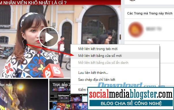 Video Facebook