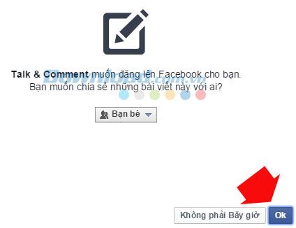 Nhận xét bằng giọng nói và gửi tin nhắn thoại trên Facebook bằng Chrome