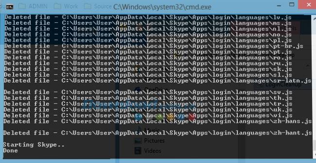 Làm thế nào để sửa lỗi màn hình xanh Skype?