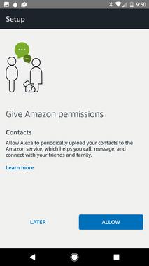 Cho phép ứng dụng truy cập danh sách liên hệ