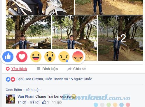 Facebook cập nhật 5 biểu tượng cảm xúc mới
