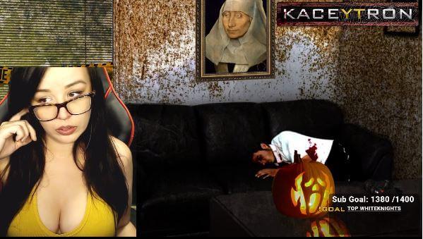 Kaceytron - hotgirl streamer game