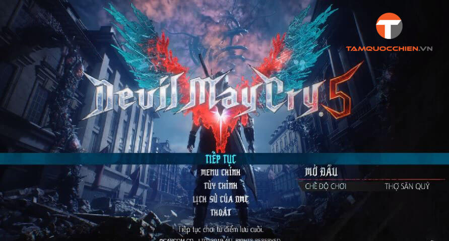 Devil May Cry 5 tiếng Việt - TamQuocChien