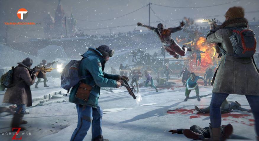 Game bắn súng hành động World War Z - TamQuocChien