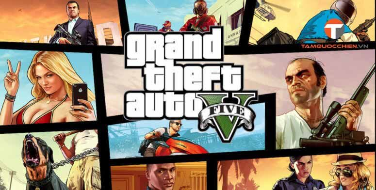 Download game GTA 5 full PC - TamQuocChien