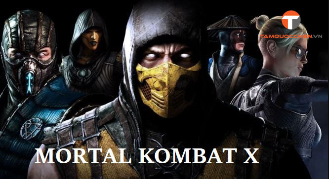 Download game Mortal Kombat X full PC - TamQuocChien