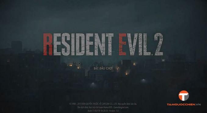 Download game Resident Evil 2 Remake Việt Hóa full PC - TamQuocChien
