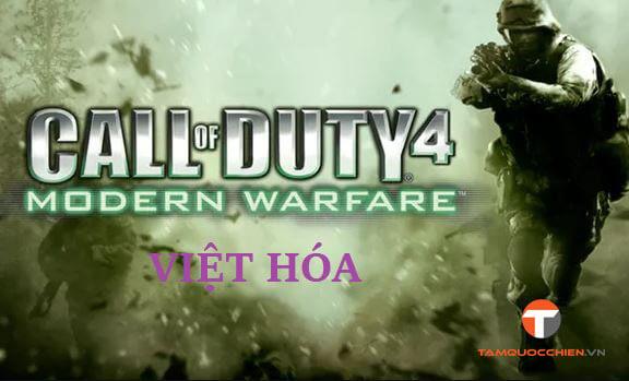 Download game Call of Duty 4 Modern Warfare Việt Hóa full PC - TamQuocChien