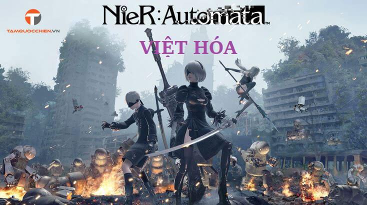 Download game NieR Automata Việt Hóa full PC - TamQuocChien