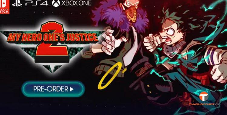 My Hero One's Justice 2 sẽ phát hành vào 13/3/2020 - TamQuocChien
