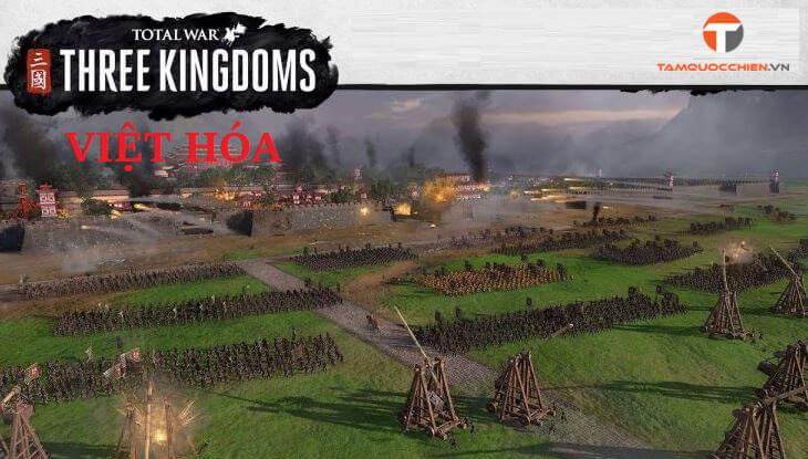 Download game Total War Three Kingdoms Việt Hóa full PC - TamQuocChien