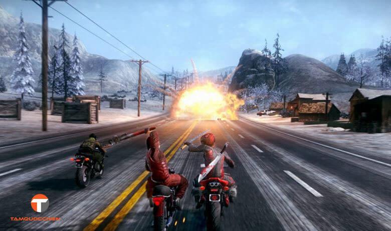 Game đua xe hành động Road Redemption - TamQuocChien