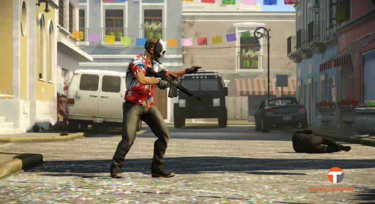Game bắn súng hành động PayDay 2 update ALL DLCs - TamQuocChien