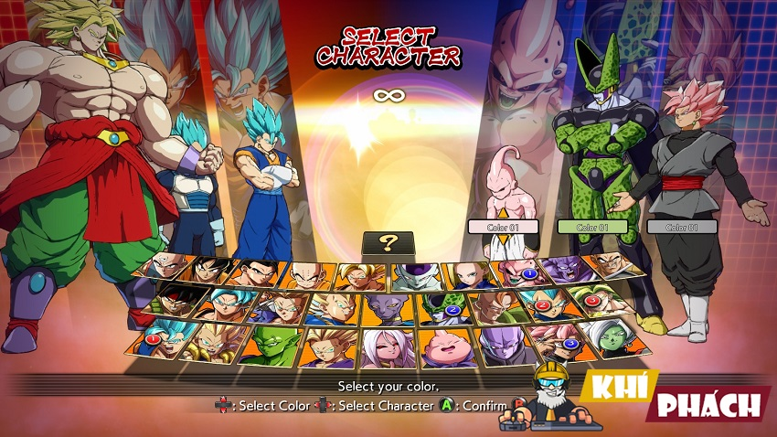 Black Goku VS Vegito ai hơn anh em này: v